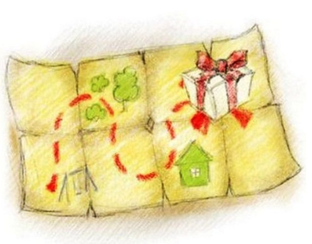 карта поиска подарка