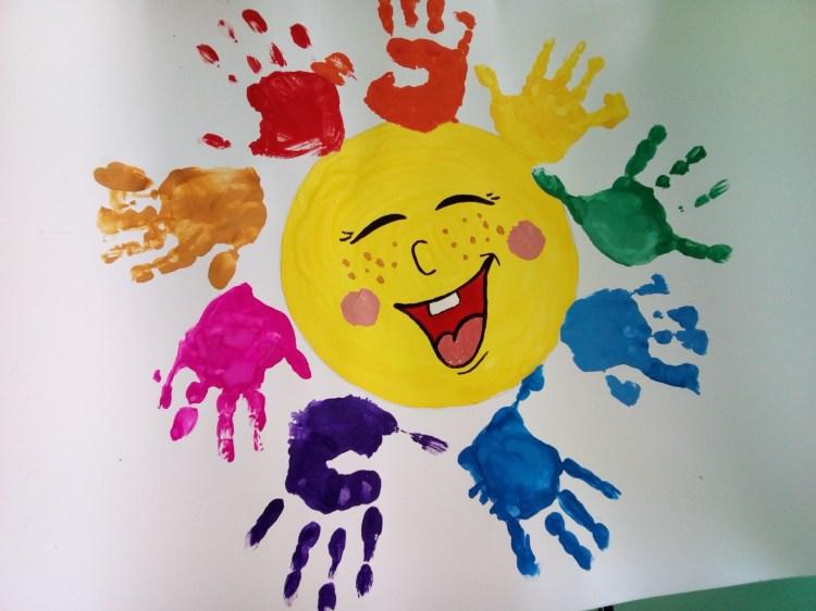 Рисунок пальчиковыми красками