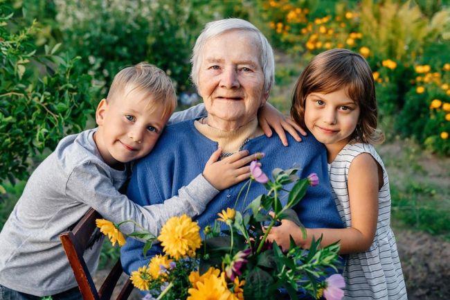 бабушке 85 лет