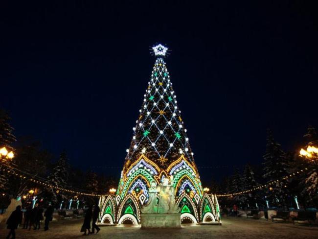 на новый год в иркутск