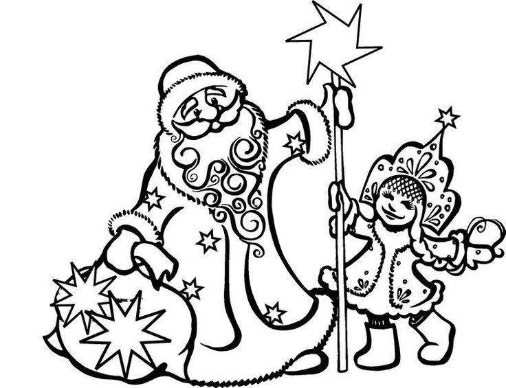 шаблон новогодней вытынанки