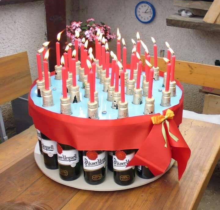 торт из пива на день рождения