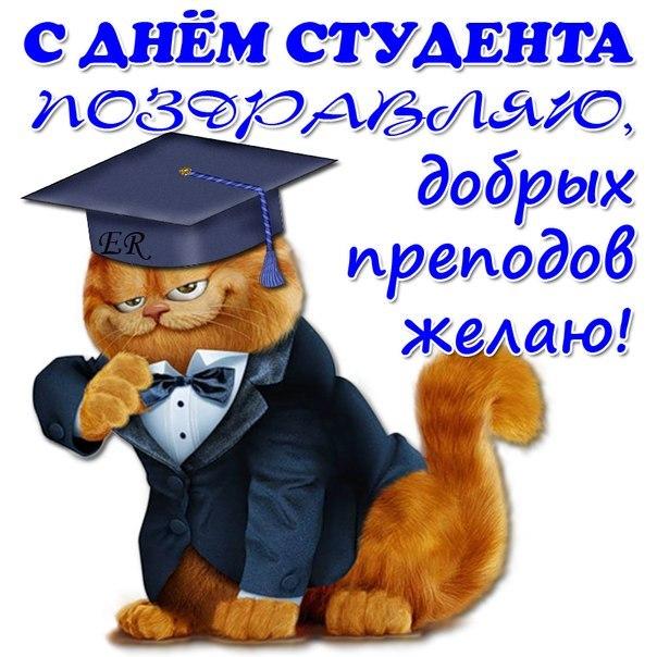 С днем студента открытки смешные