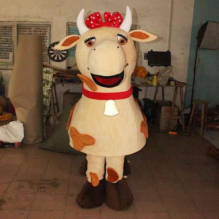костюм коровы на 2 человека