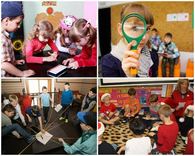 задания для квеста в детском саду и школе