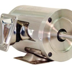 WEG SHARK GENERAL PURPOSE WASHDOWN MOTORS STAINLESS STEEL FOOTED BASE