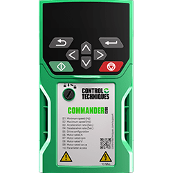 CONTROL TECHNIQUES COMMANDER C200 AC 115 VOLT 1/PH DRIVE SERIES