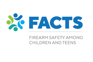 FACTS logo; Firearm Safety Among Children & Teens