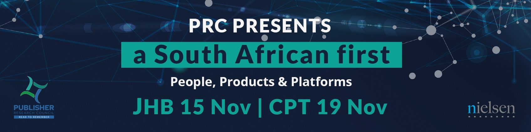 The Publisher Research Council (PRC) is hosting SA's first event to showcase the power of PAMS BRANDS, People, Products and Platforms data.