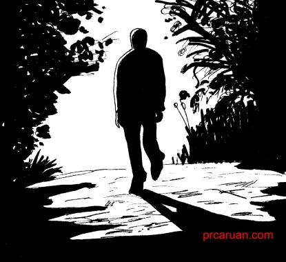 un caminante