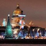 Петербург начинает готовиться к Новому году