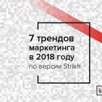Тренды маркетинга 2018 от Ильи Балахнина