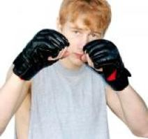 boxing pose