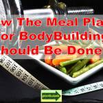 meal plans for bodybuilding