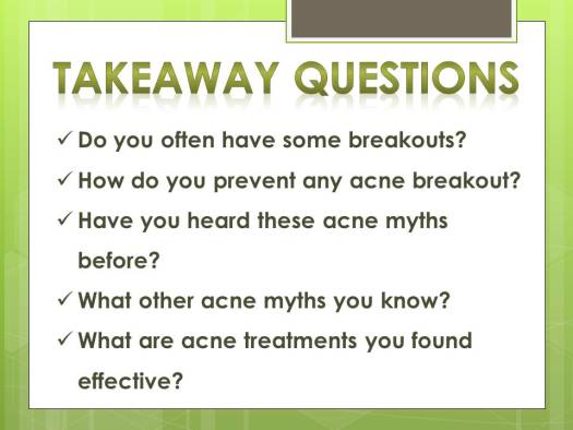 acne myths_q