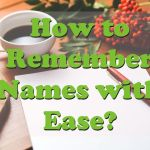 remember names