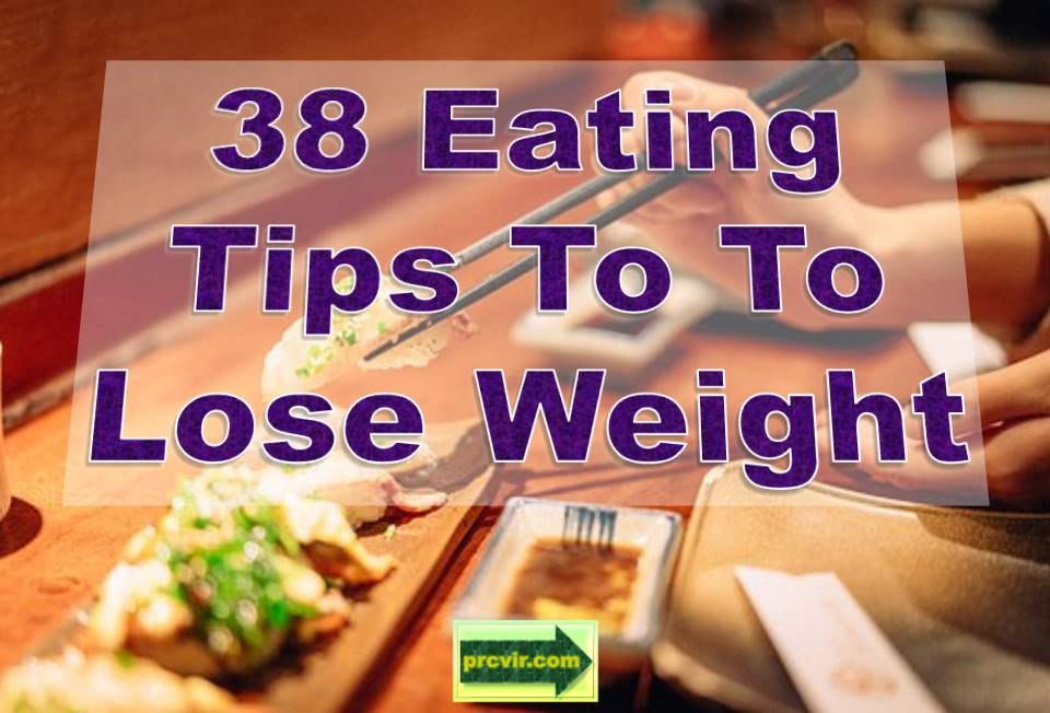 38 eating tips