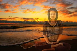 meditating-calm the mind