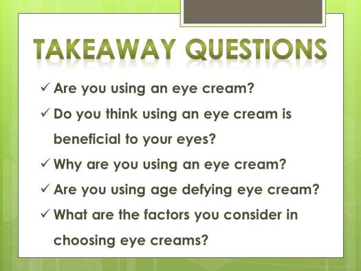 eye cream_questions