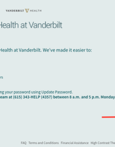Complete the form with activation code last digits of your social security number and date birth click  cnext   also my health at vanderbilt help sign up for rh vanderbilthealth
