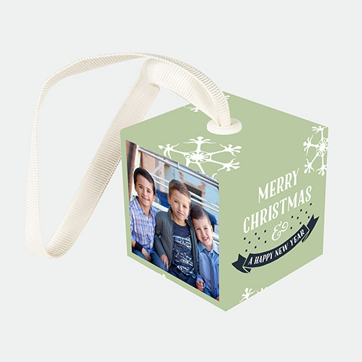 2x2 Photo Cube Create Custom Cube Ornaments Walgreens