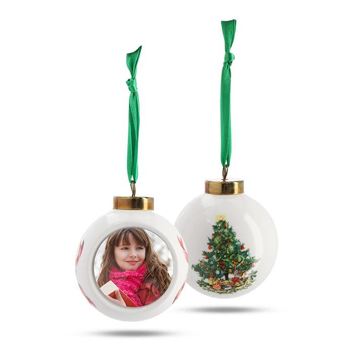 porcelain ball ornament