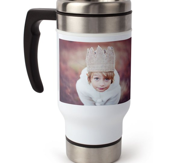 Travel Coffee Mug With Handle Oz
