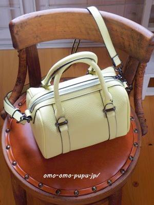 ZARAのイエローミニバッグ購入