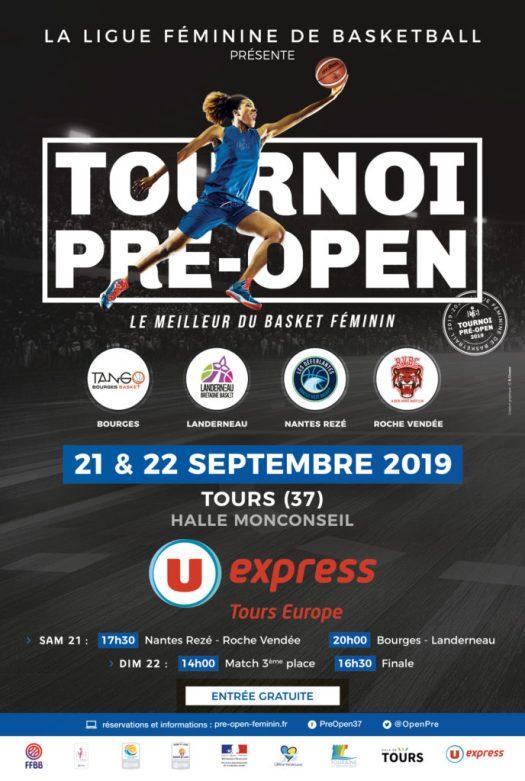 Affiche pré-open 2019