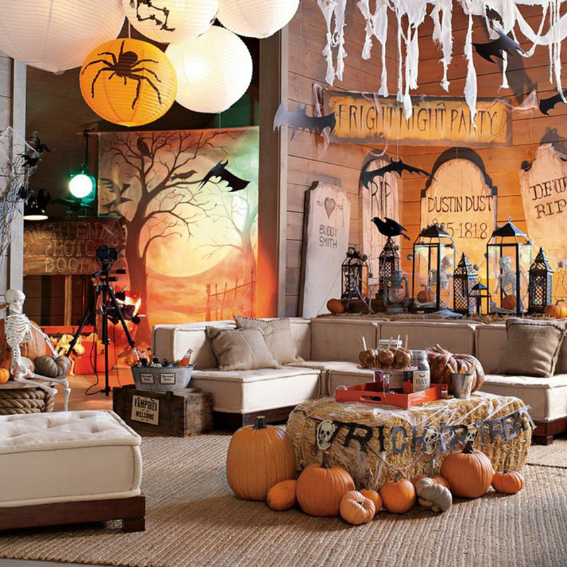 Halloween Home Decor Ideas Pretend Magazine