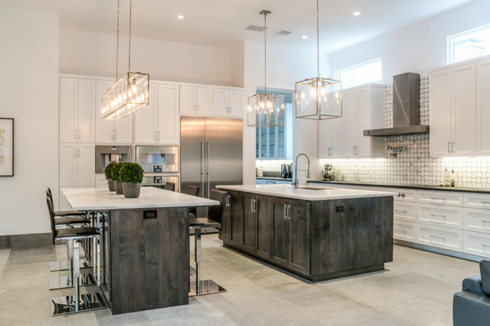 grey kitchen island cabinets tampa design ideas pre tend magazine big modern style