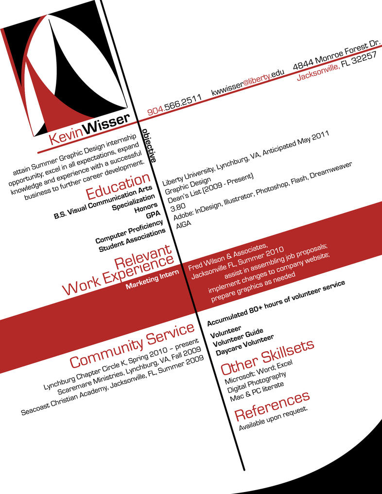 Graphic Design Resume By Blindfaeth On Deviantart Rh Blindfaeth Deviantart  Com Resume Examples For Graphic Design Students Resume Examples For Graphic