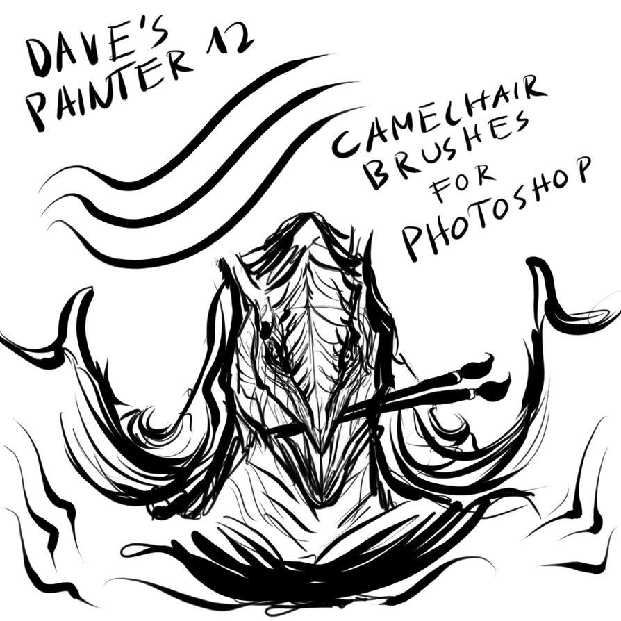 Dave's Camelhairbrushes V 2 by Brollonks on DeviantArt