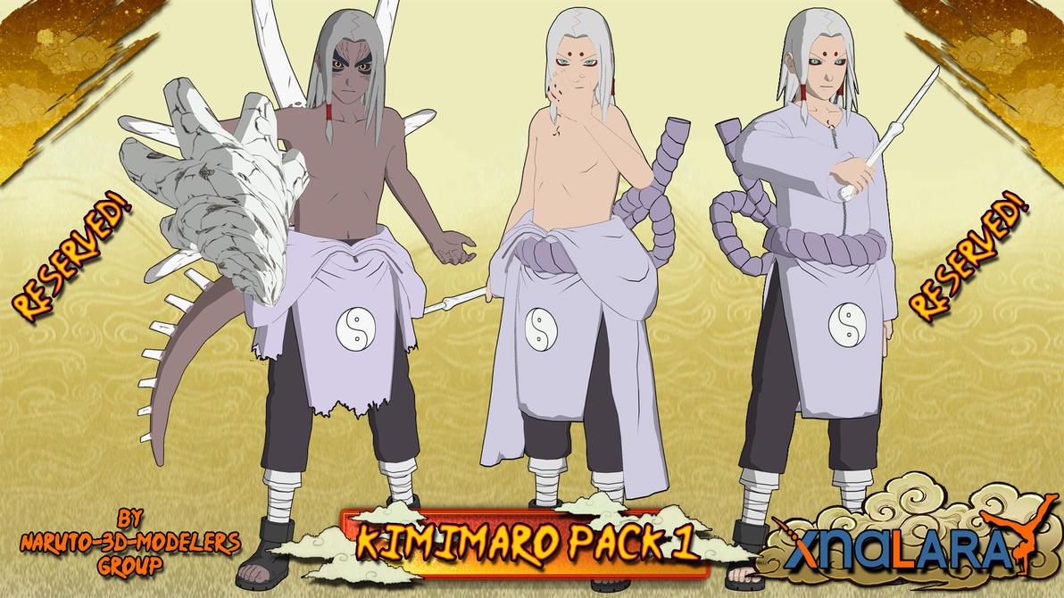 Gaara Kazekage Wallpaper 3d Naruto Kimimaro Kaguya Pack 1 For Xps By Asideofchidori