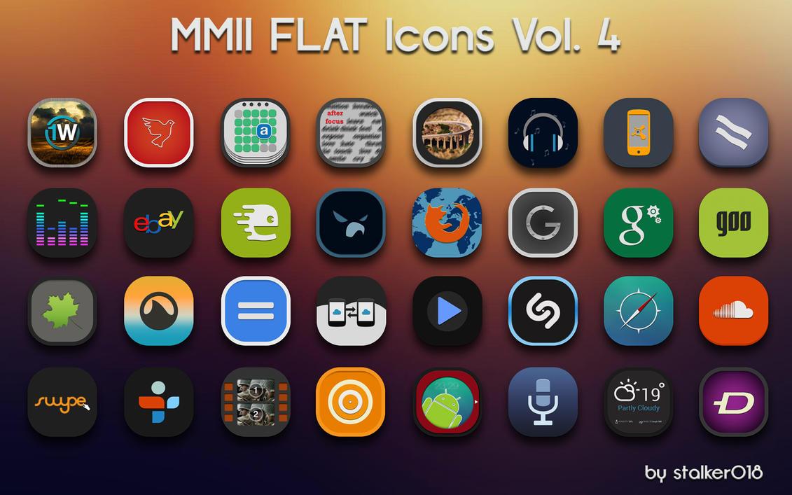 MMII FLAT Icons Vol4 by stalker018 on DeviantArt