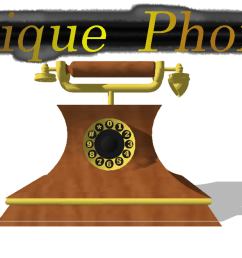 mmd antique phone dl by onimau619  [ 1209 x 661 Pixel ]