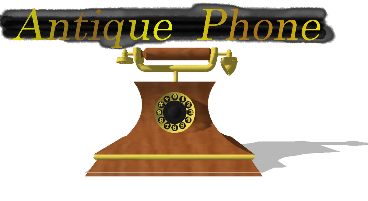 hight resolution of  mmd antique phone dl by onimau619