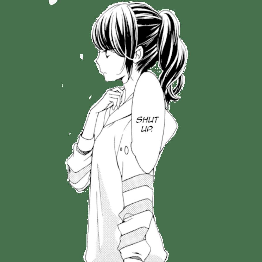 Manga Girl Render 21 By XDarkIvyX On DeviantArt