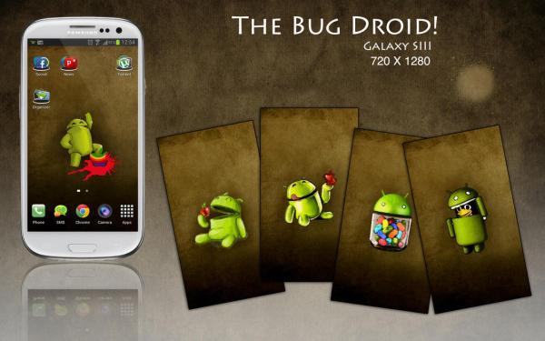Hasil gambar untuk bugdroid