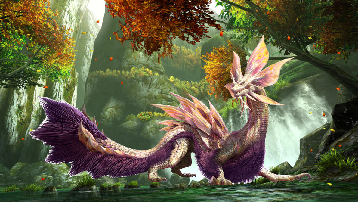Mythical Creatures In The Fall Wallpaper The Mizutsune Review By Cm25 On Deviantart