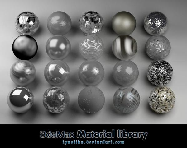3ds Max Materials For Free - Year of Clean Water