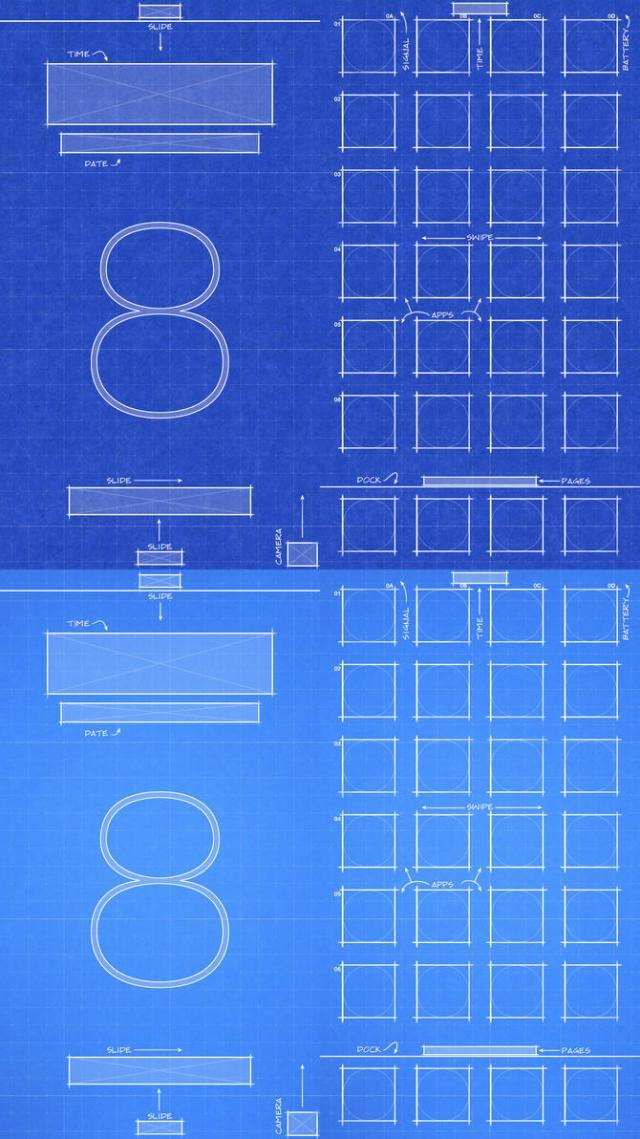 Iphone 6 plus blueprint background background editing picsart iphone 6 ios8 blueprint wallpaper by jessemunoz on deviantart malvernweather Gallery