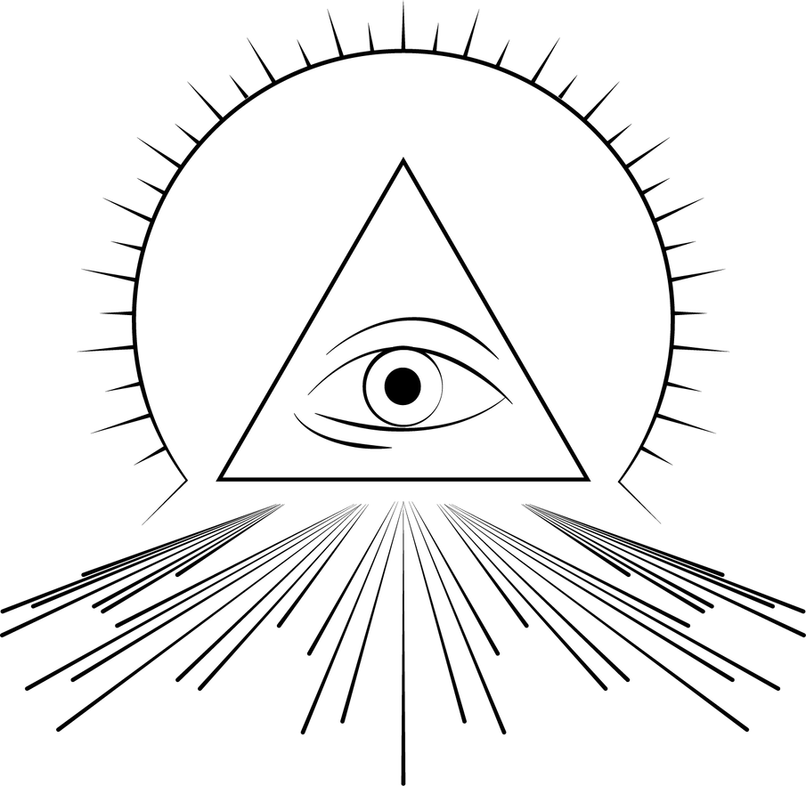 Illuminati's Eye vector by Alerinon on DeviantArt