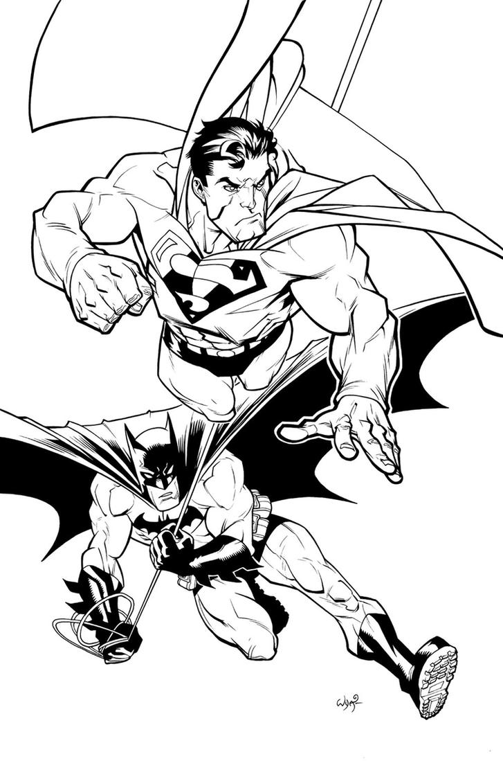 Superman_Batman by RyanOttley on DeviantArt