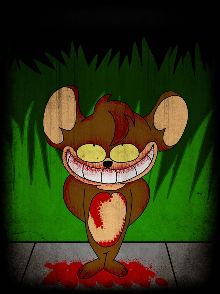 Evil Tom And Jerry Toms Face