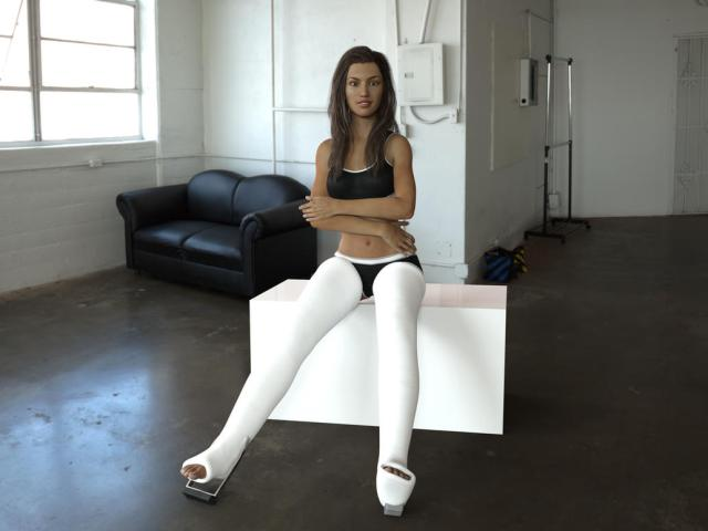Long Leg Casts For Genesis 3 Female By Rizzo Cast