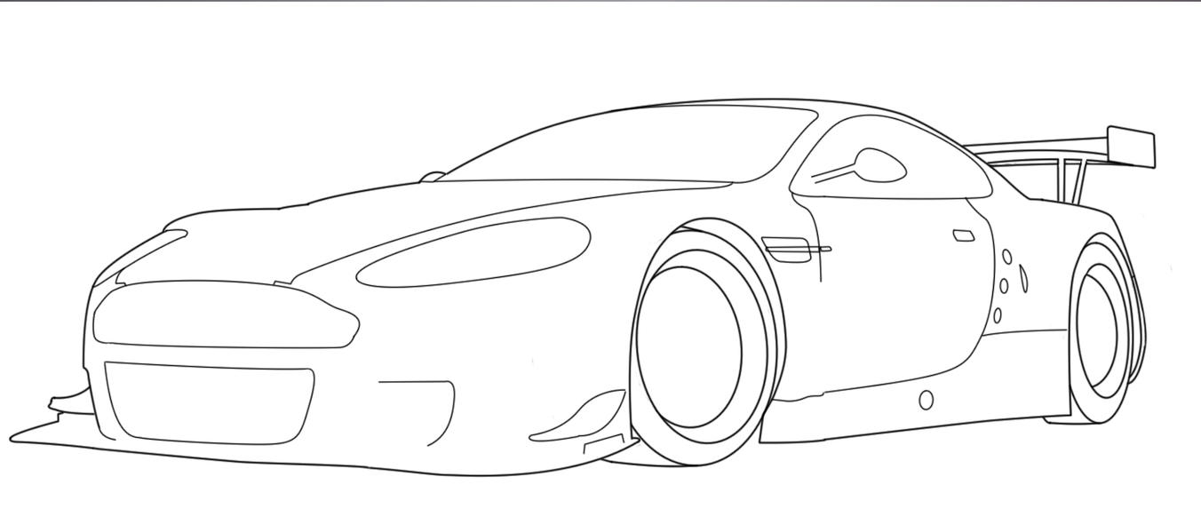 Aston Martin DBR9-WIP1 by BHuPS on DeviantArt