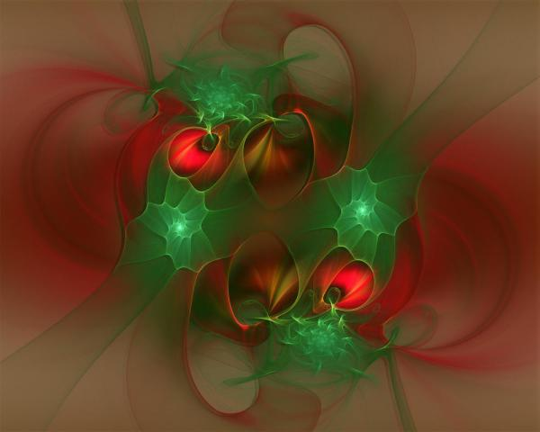 Abstract Christmas Paintings