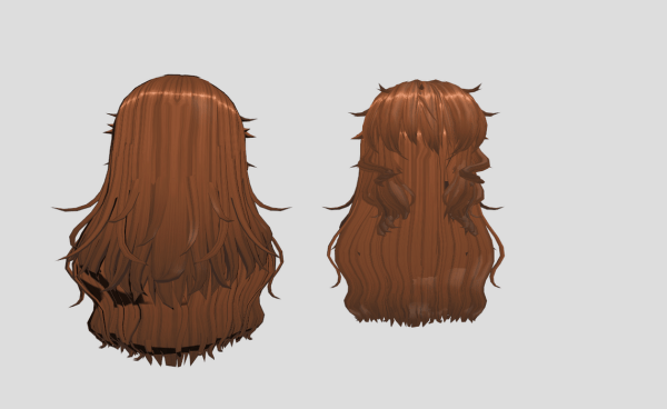 MMD Hair Download by LenKagamine363 mmd model Anime