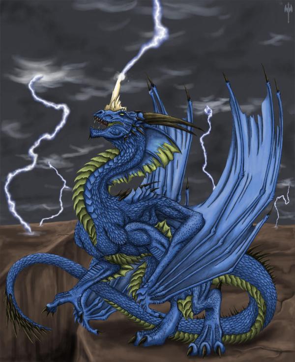 Blue Dragon Sheranuva Deviantart